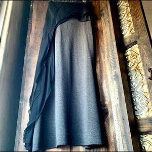 Designer maxi skirt.
